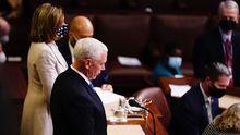 Mike Pence ratifica la victoria de Joe Biden en las elecciones de Estados Unidos