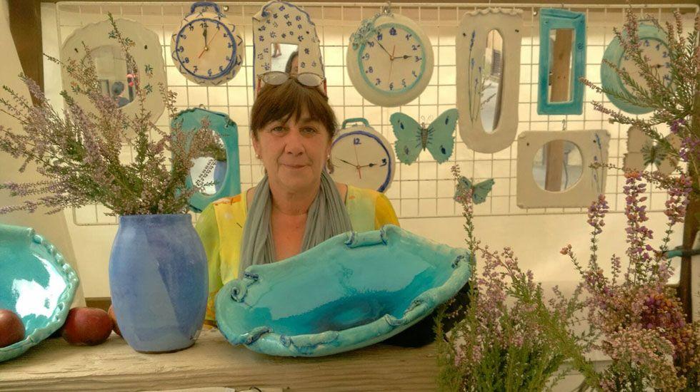 Nieves Alonso, ceramista y alfarera