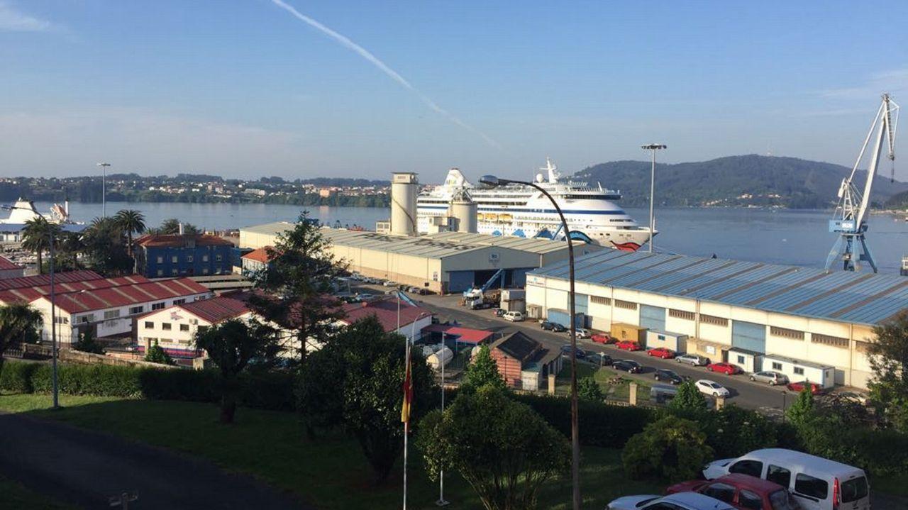 Una mañana con Marco y Jennifer Bernhard por Ferrol.AVANSIG, CON SEDE EN FERROL Y A CORUÑA