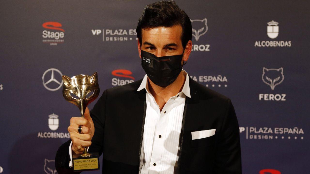 Mario Casas ya se llevó el premio Feroz por este papel