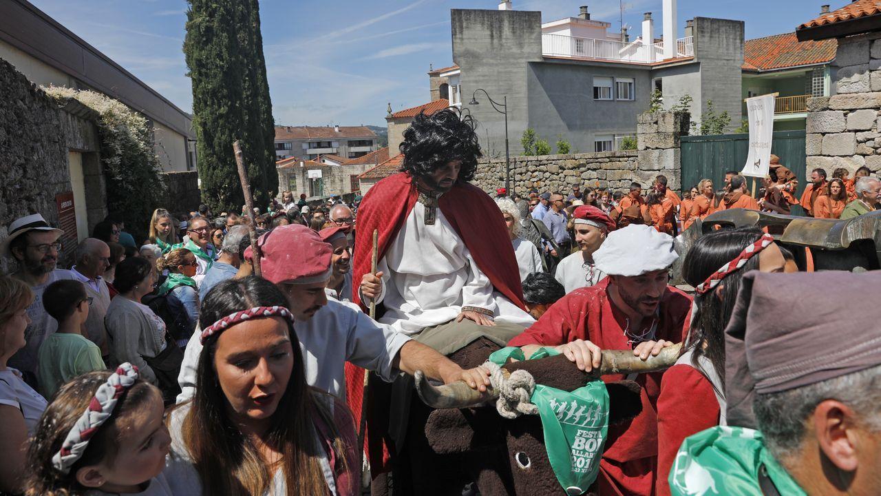 Xan de Arzúa procesionó en Allariz