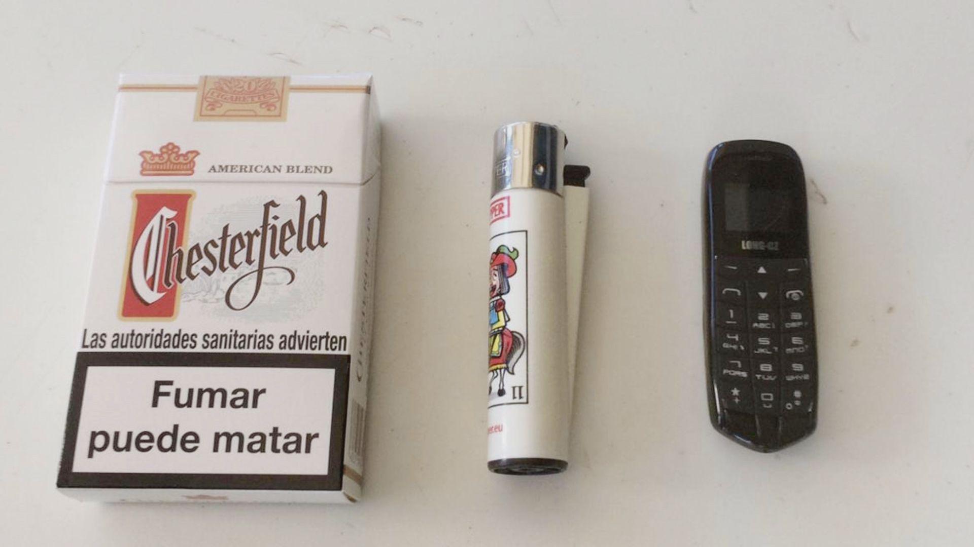 Los objetos más curiosos incautados en las cárceles gallegas.Máquina de tatuar casera incautada en Teixeiro