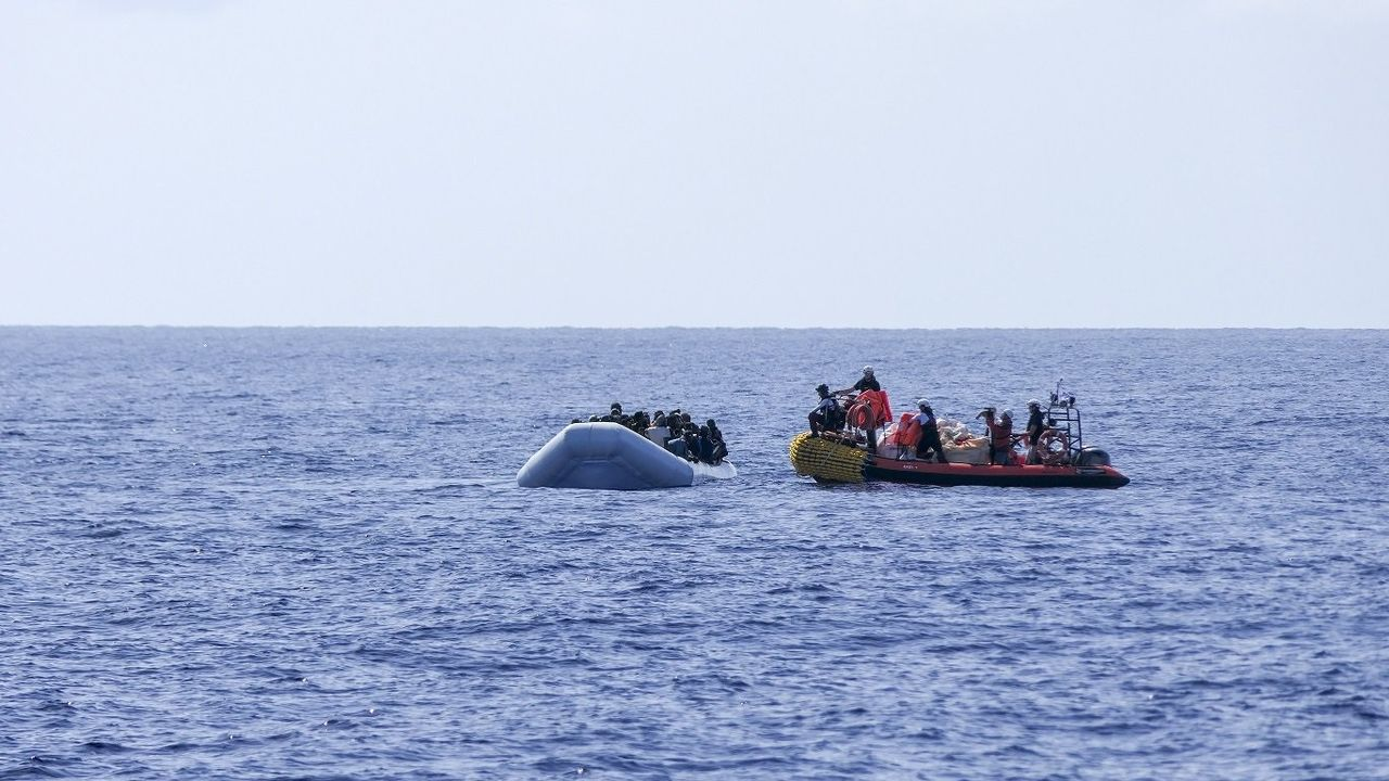Rescate de migrantes por parte del «Ocean Viking»