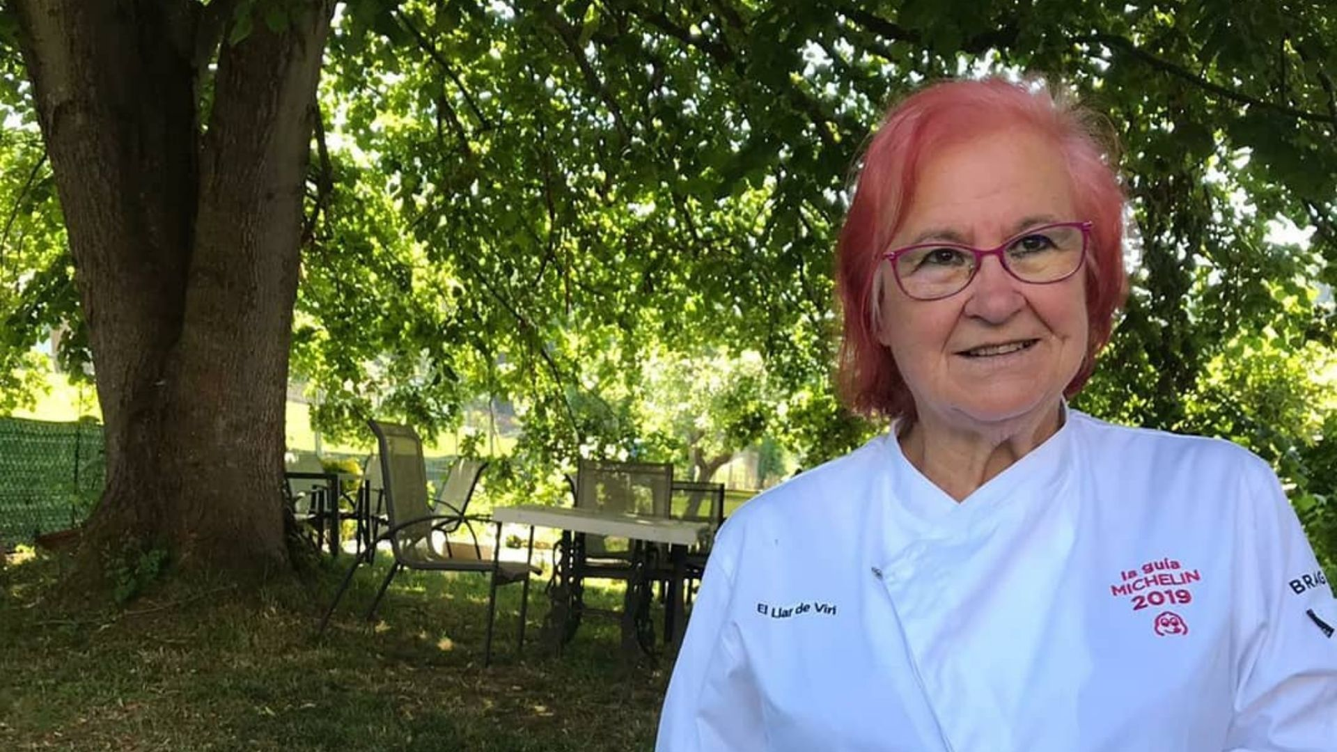La chef y propietaria de El Llar de Viri, Elvira Fernández