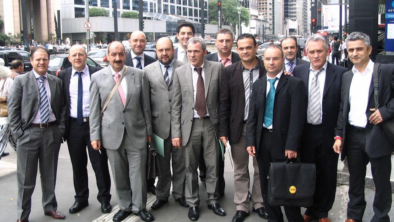 Imagen de archivo de una misión comercial en Brasil