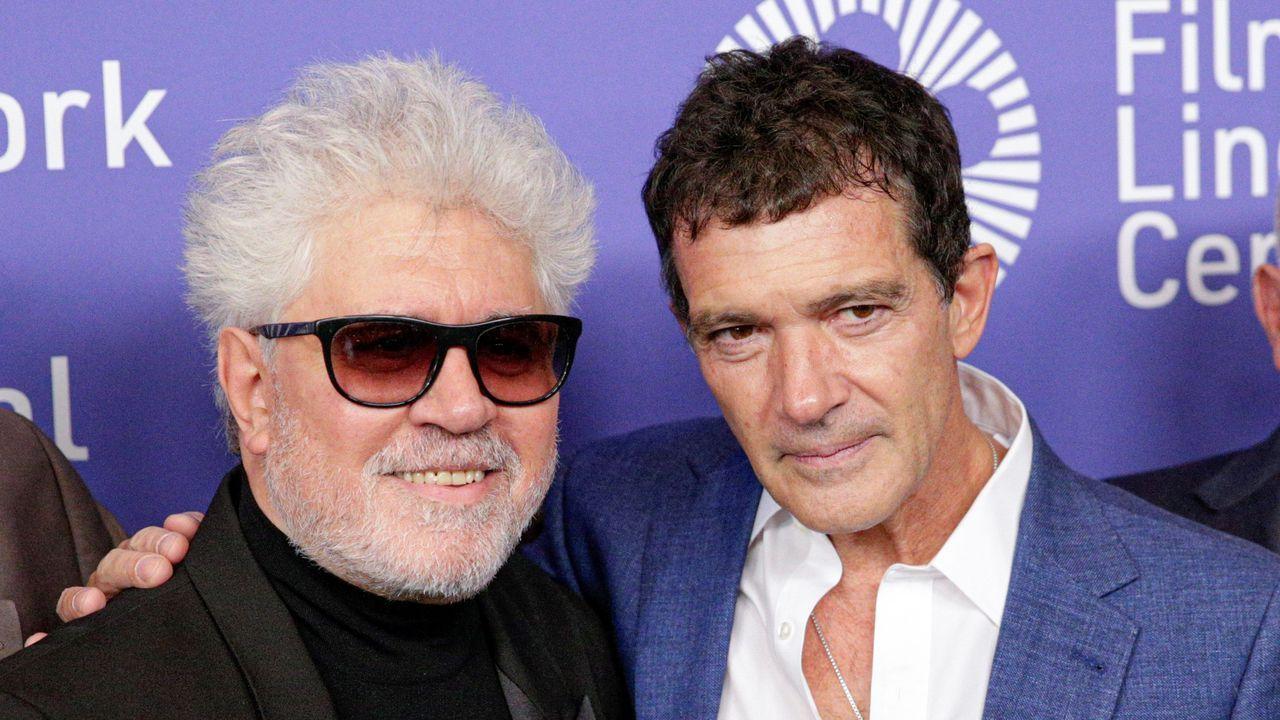 Pedro Almodóvar y Antonio Banderas, nominados por su trabajo en «Dolor y gloria»