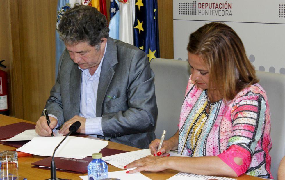 El vicepresidente de la Diputación César Mosquera presenta el primer lote de compost elaborado en Príncipe Felipe.Elinor Ostrom, la única mujer con el Nobel de economía