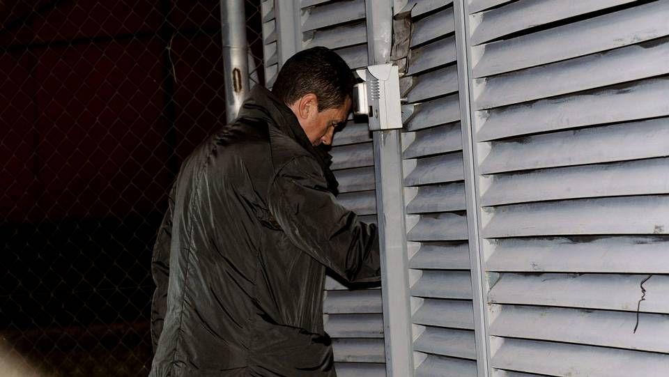 Una bola de fuego a 1.200 grados dinamita una vivienda en Segovia.Alejandro Guanella.