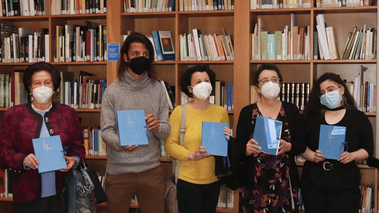 Presentación do libro de Xela Arias celebrada na sede do Consello da Cultura Galega
