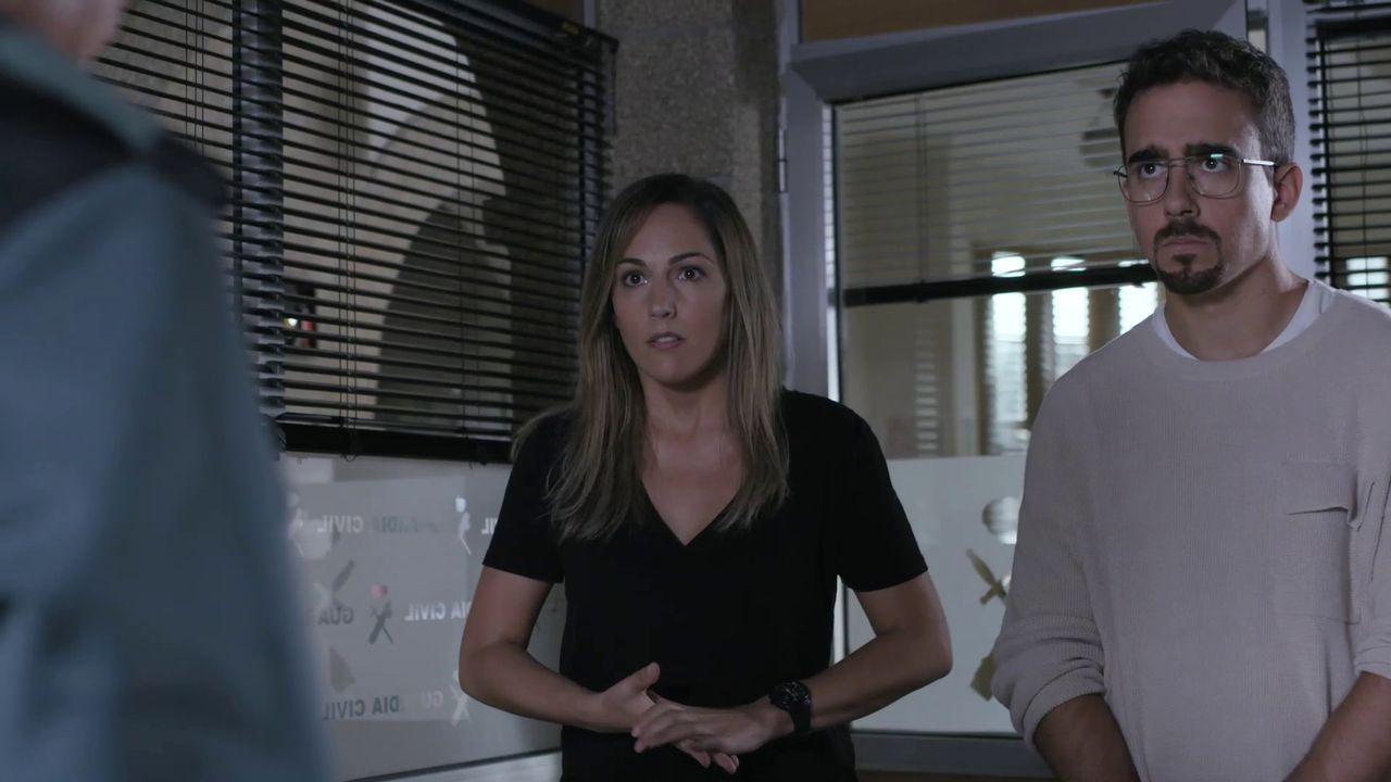Miguel Borines e Mariana Expósito, nunha escena de «Serramoura»
