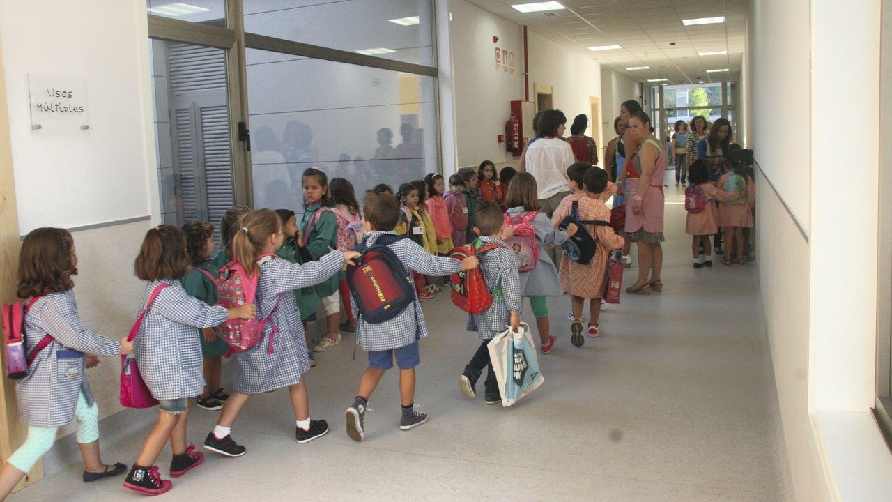 Imagen de archivo de escolares del Vales Villamarín