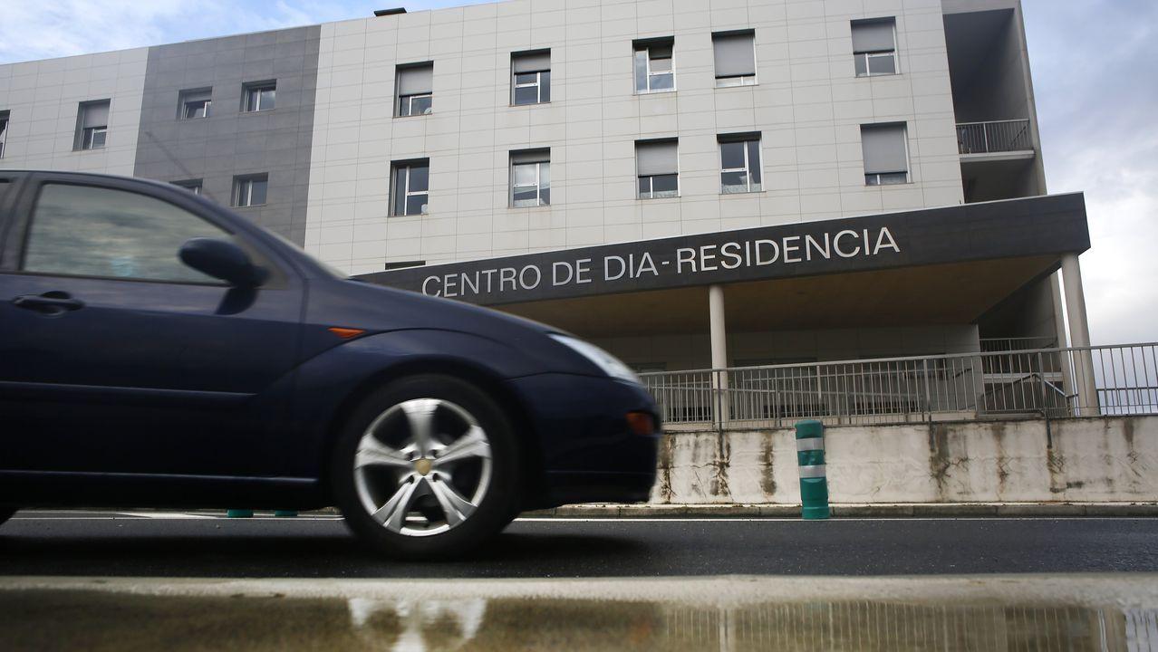 La residencia de San Cibrao, este miércoles