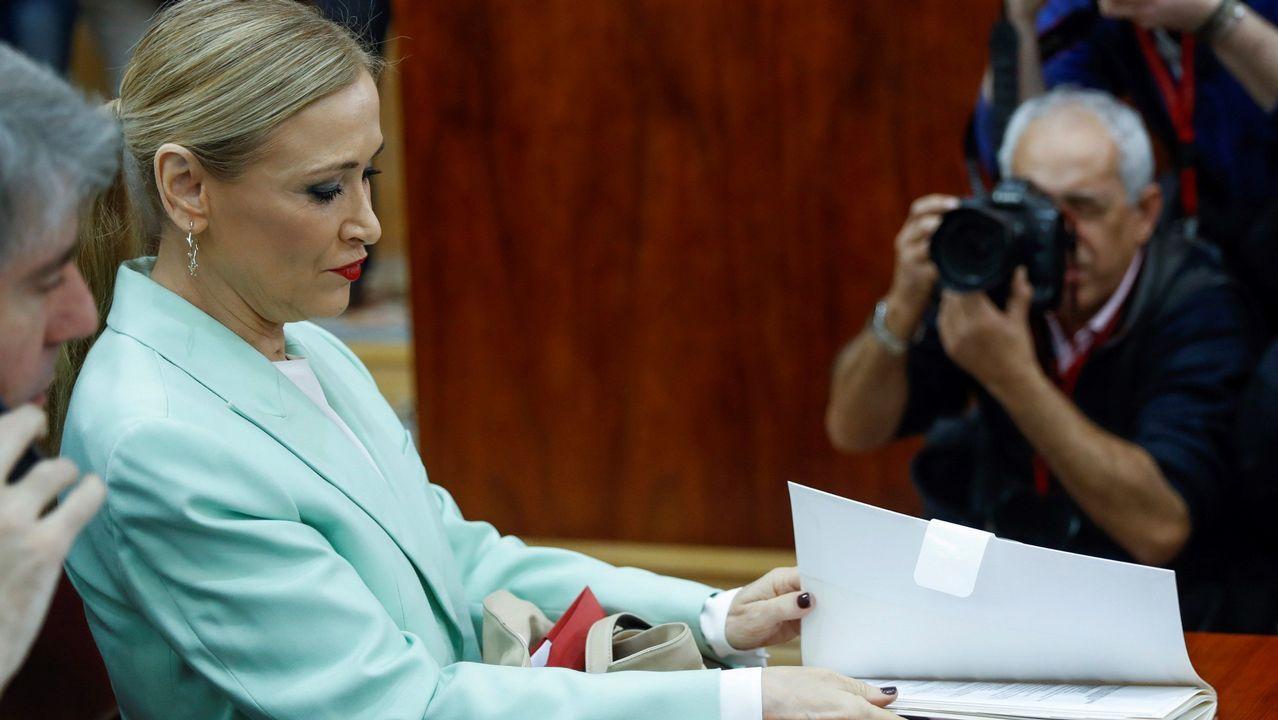 Cifuentes: «Mi master es real y legal».Cristina Cifuentes