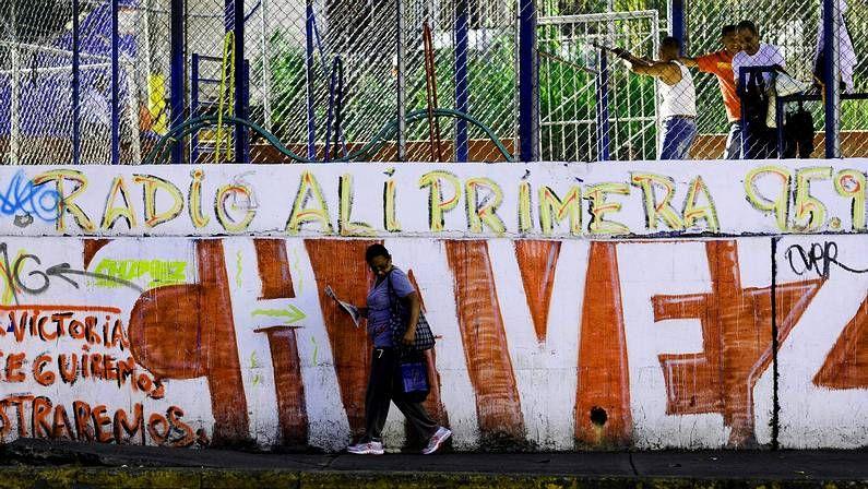 Mensaje de apoyo a Chávez