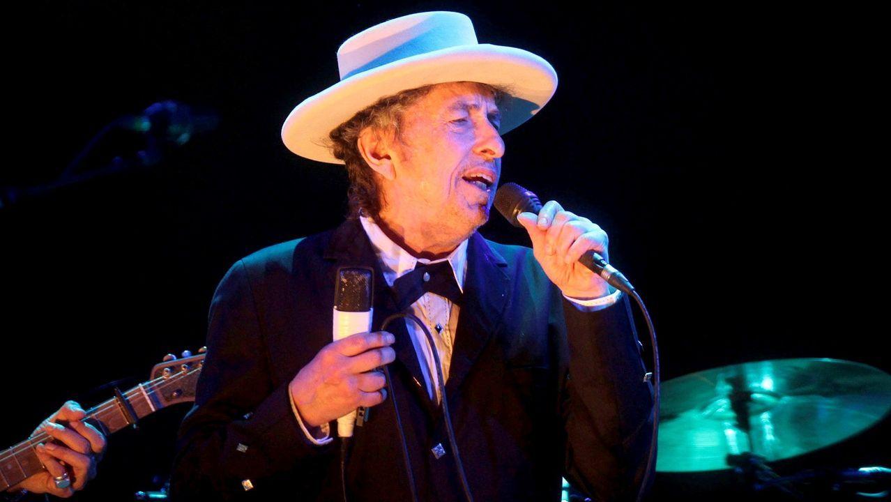 BOB DYLAN EN UNA IMAGEN TOMADA EN EL AÑO 2012 EN EL FESTIVAL DE BENICASSIM