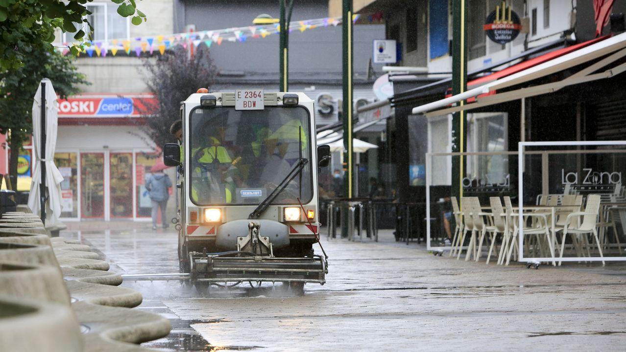 Continúan las restricciones en el municipio de Lugo y en el barrio de A Milagrosa