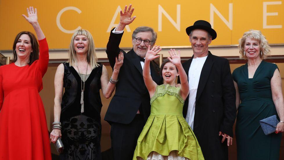 Spielberg presenta «The BFG» en Cannes