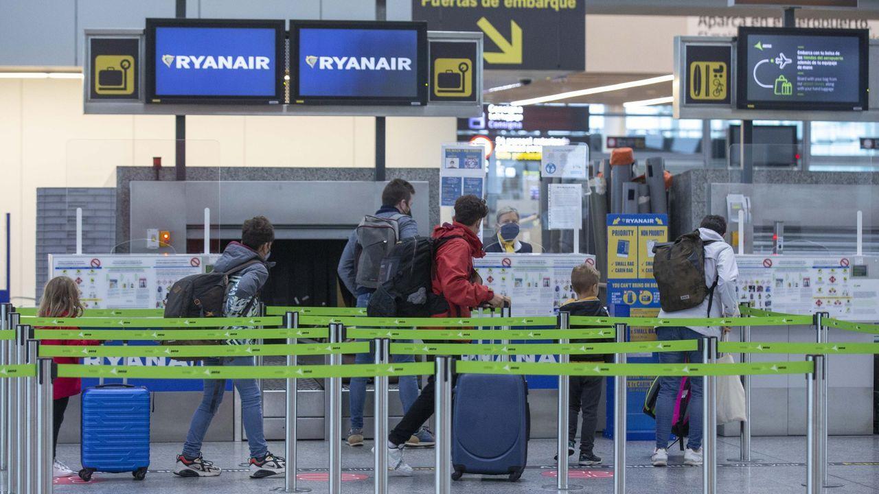 Terminal de Lavacolla, en Santiago