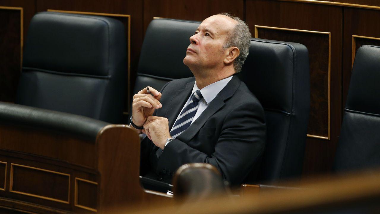 Iceta y Darias juran sus cargos como nuevos ministros.El ministro de Justicia, Juan Carlos Campo, en una imagen de archivo