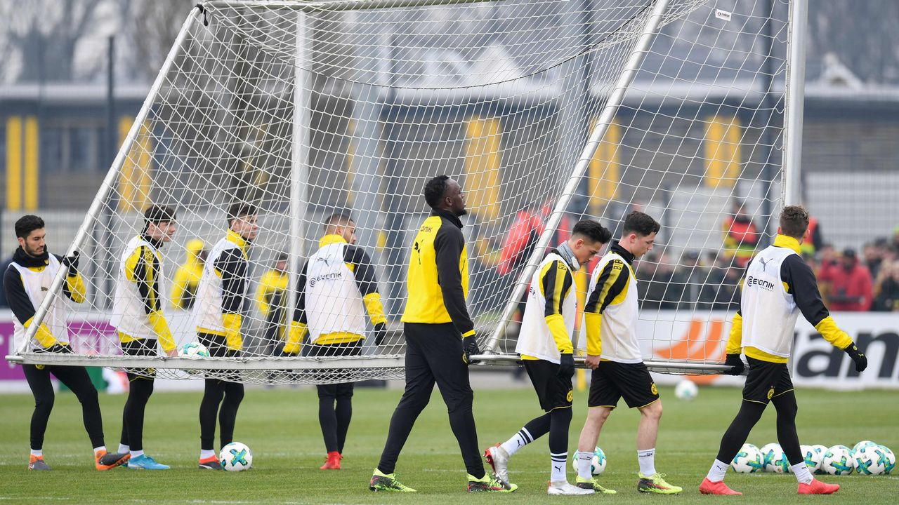 Bolt quiere jugar en la Bundesliga... o en el Manchester United