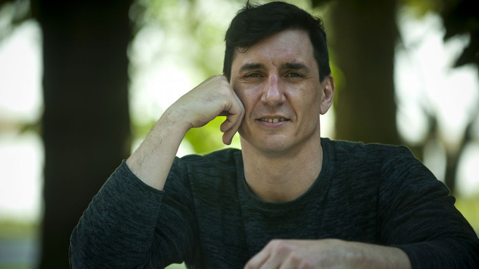 Diego Rico: «Chamáronme: '¿queres vir a unha cita a cegas'; vou».Luján Argüelles