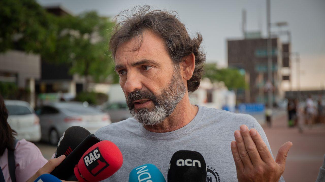 El fundador de la oenegé española Open Arms, Óscar Camps