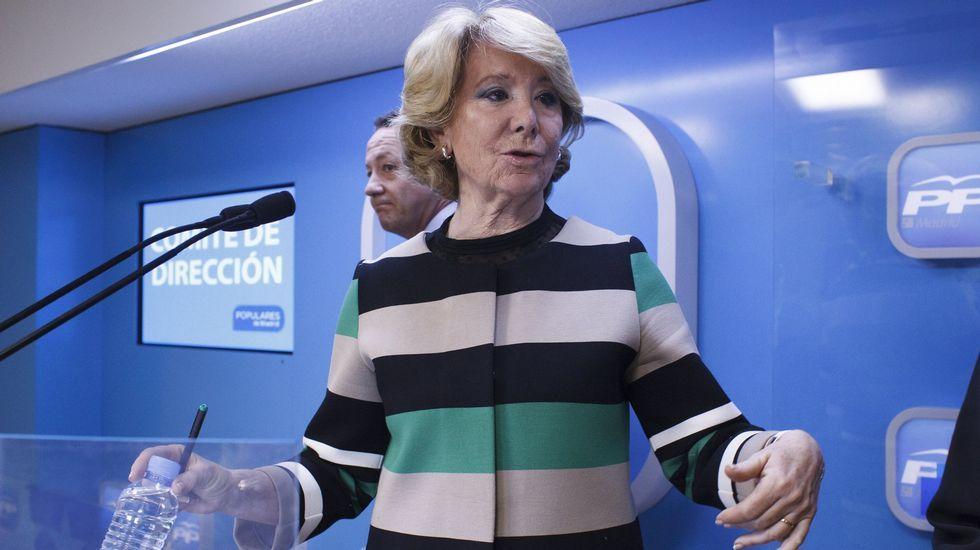 En marzo del 2015, cuando presentó su candidatura al Ayuntamiento de Madrid.