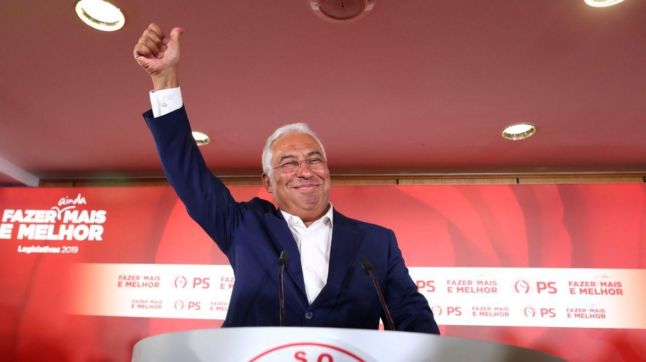 Antonio Costa, líder del Partido Socialista