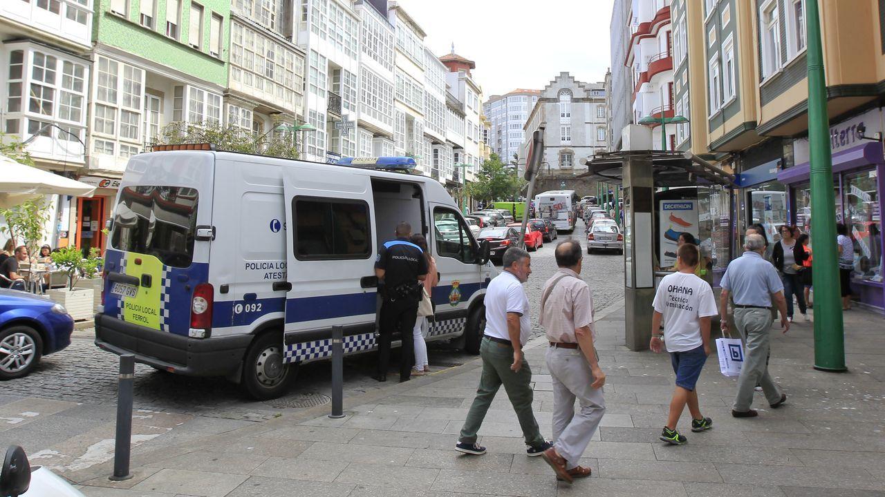 La agresión a varias mujeres a las puertas de un local coruñés