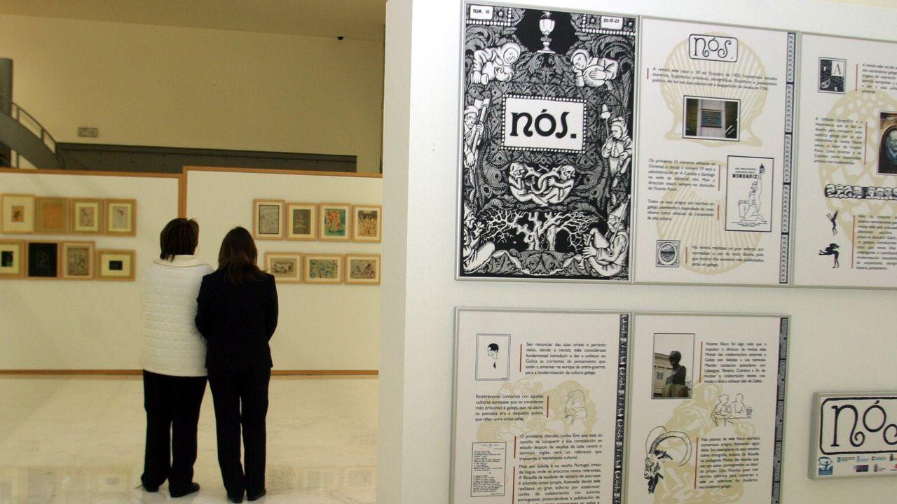 Exposición sobre a revista «Nós»