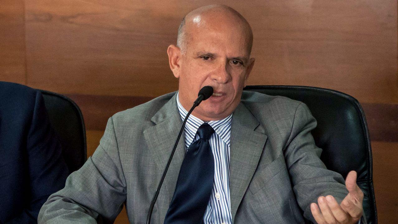 patrullera.El exgeneral Hugo Carvajal, antiguo jefe de la contrainteligencia militar venezolana, en una fotografía tomada el 27 de enero del 2016