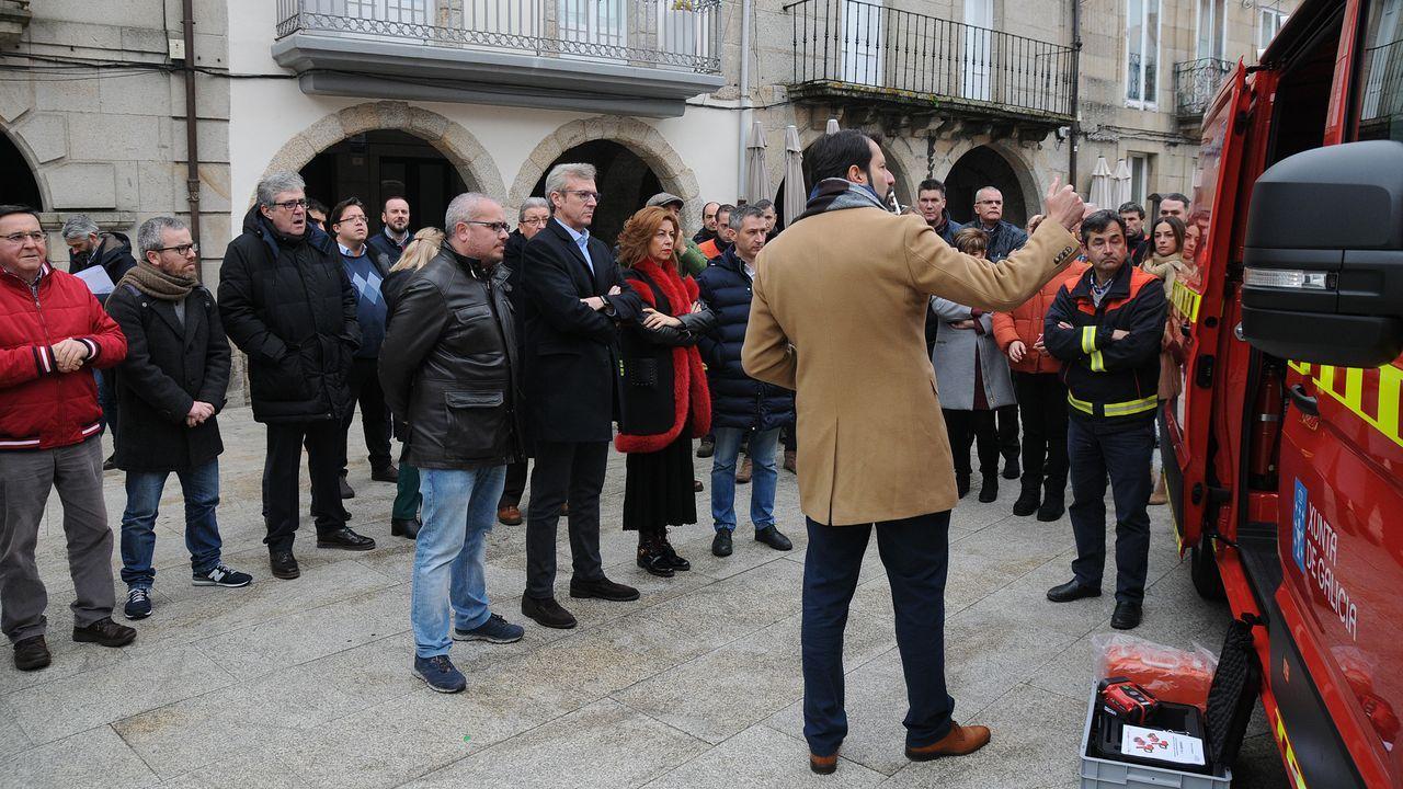Así trabajan los agentes medioambientales del parque de O Invernadeiro.Laias, es uno de los tres balnearios del grupo Caldaria en Ourense