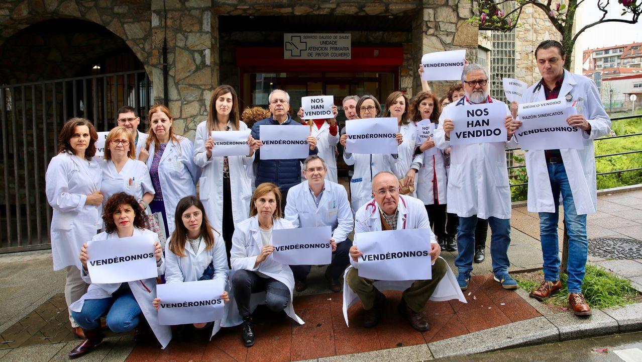Protestas contra la paralización de la huelga