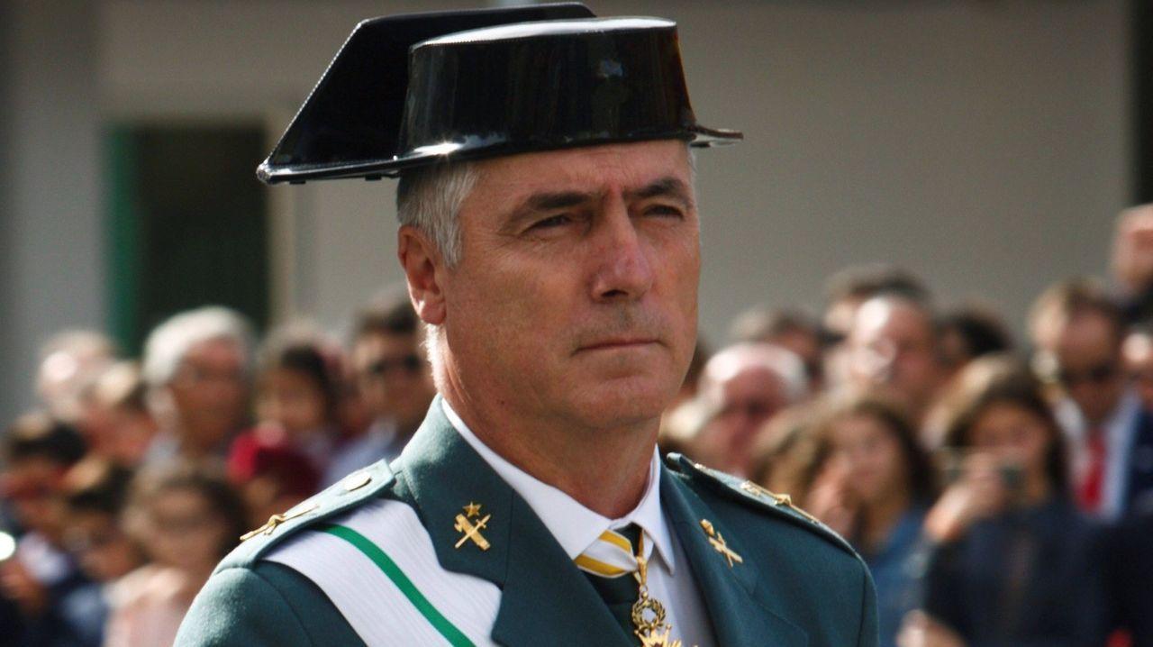 El rey asegura que «aún quedan tiempos difíciles» pero que España «es un gran país» que sabe vencer las dificultades.El general Félix Blázquez en una imagen de archivo