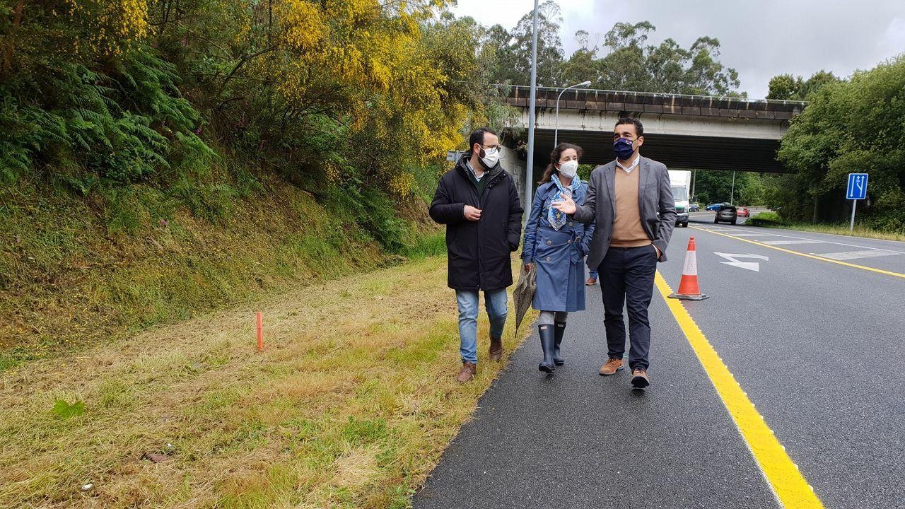 La futura senda de la carretera PO-531 conllevará una inversión de 830.000 euros