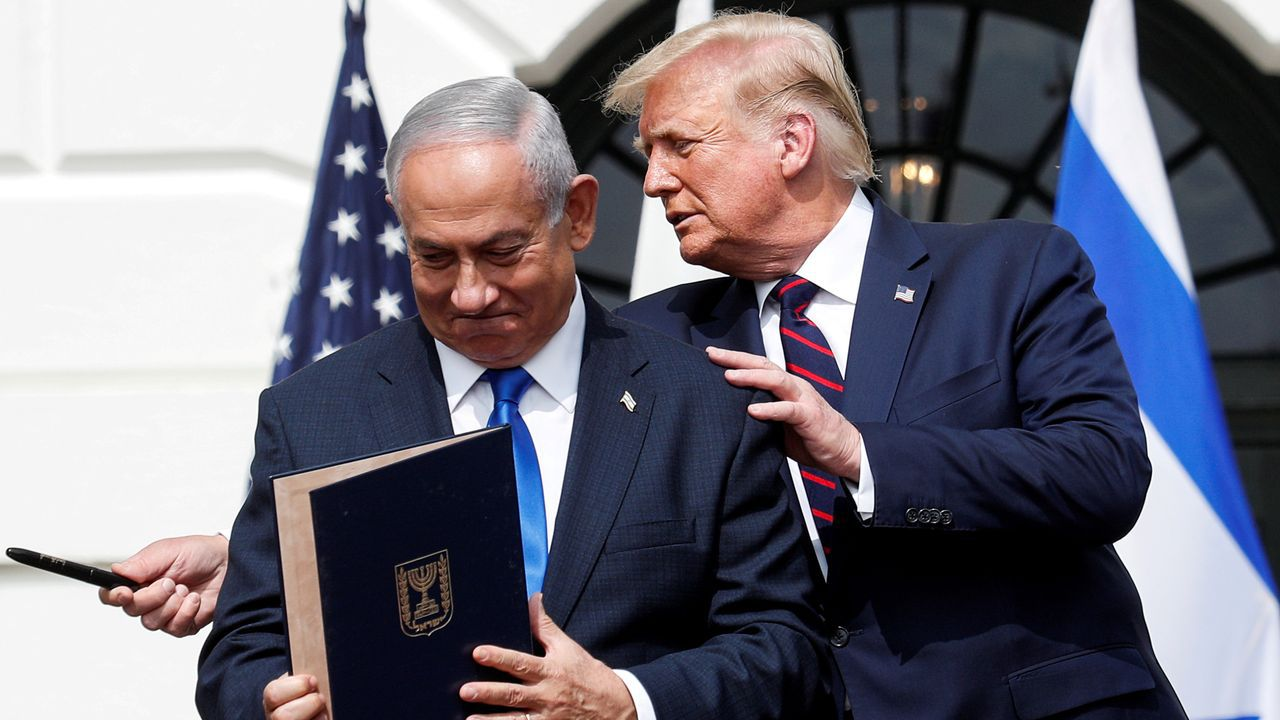 Netanyahu y Trump en septiembre en la Casa Blanca