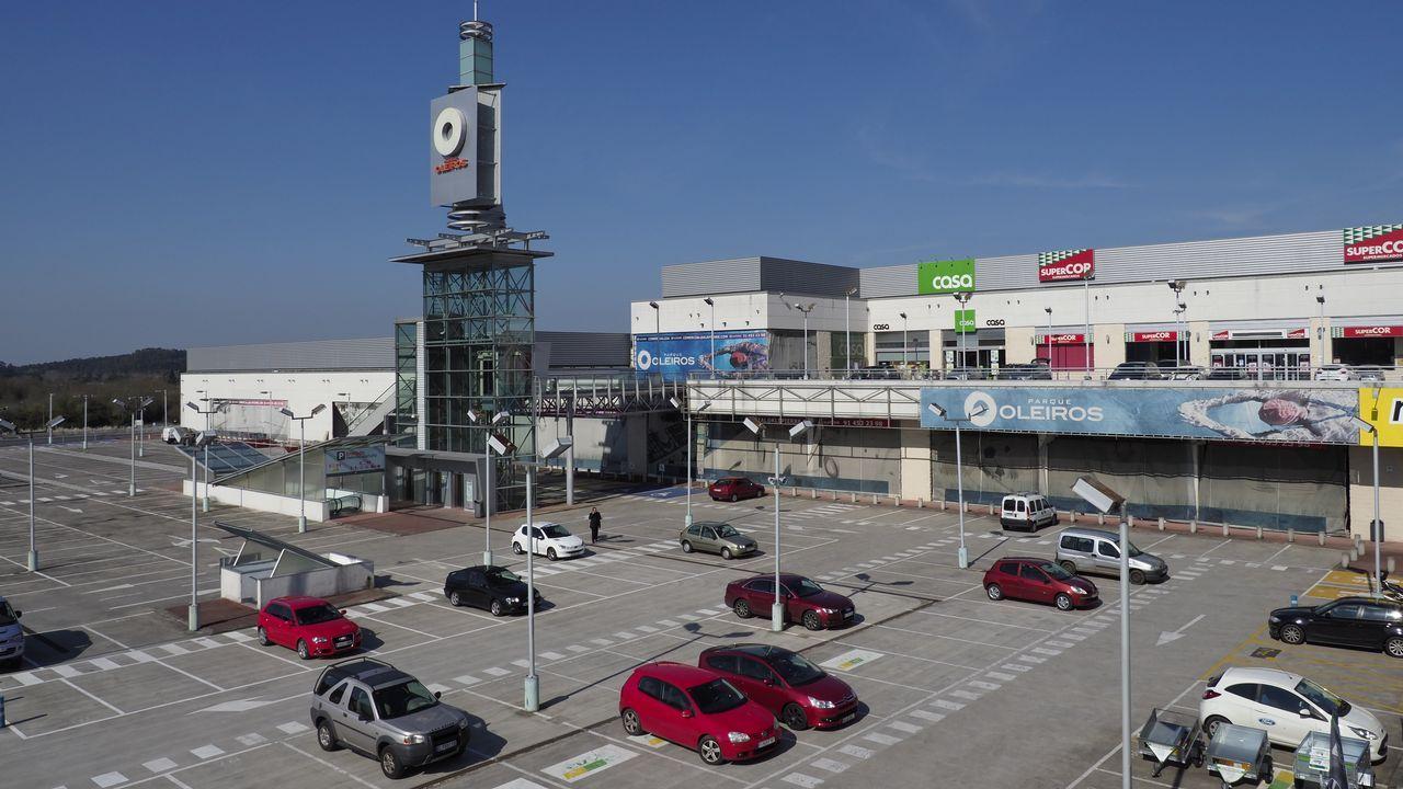 Así es la nueva imagen de As Termas de Lugo.El pasado octubre se inauguró la reforma del centro comercial de Lugo