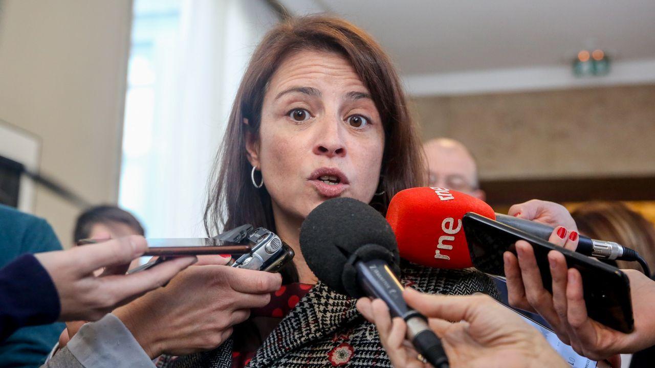 Un tornado golpea La Habana.La portavoz del Grupo Socialista en el Congreso de los Diputados, Adriana Lastra