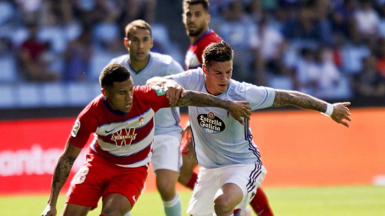 Las mejores imágenes del Celta - Espanyol.Santi Mina (2013-2015, 2019-actualidad)
