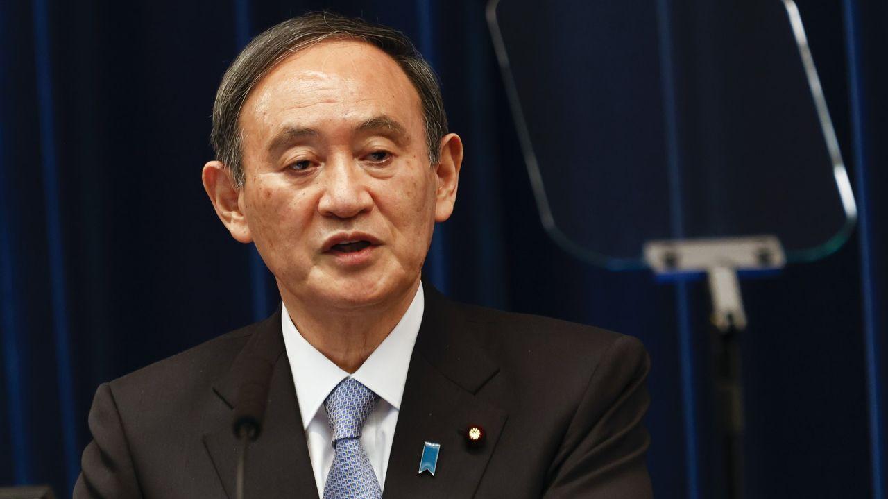 Yoshihide Suga , primer ministro de Japón