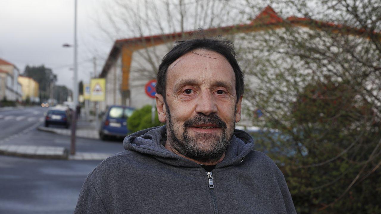 Alberto Fernández, vecino de O Carballiño