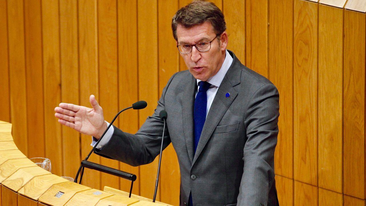 El presidente de la Xunta ha anunciado guarderías gratuitas para las familias gallegas a partir del segundo hijo.