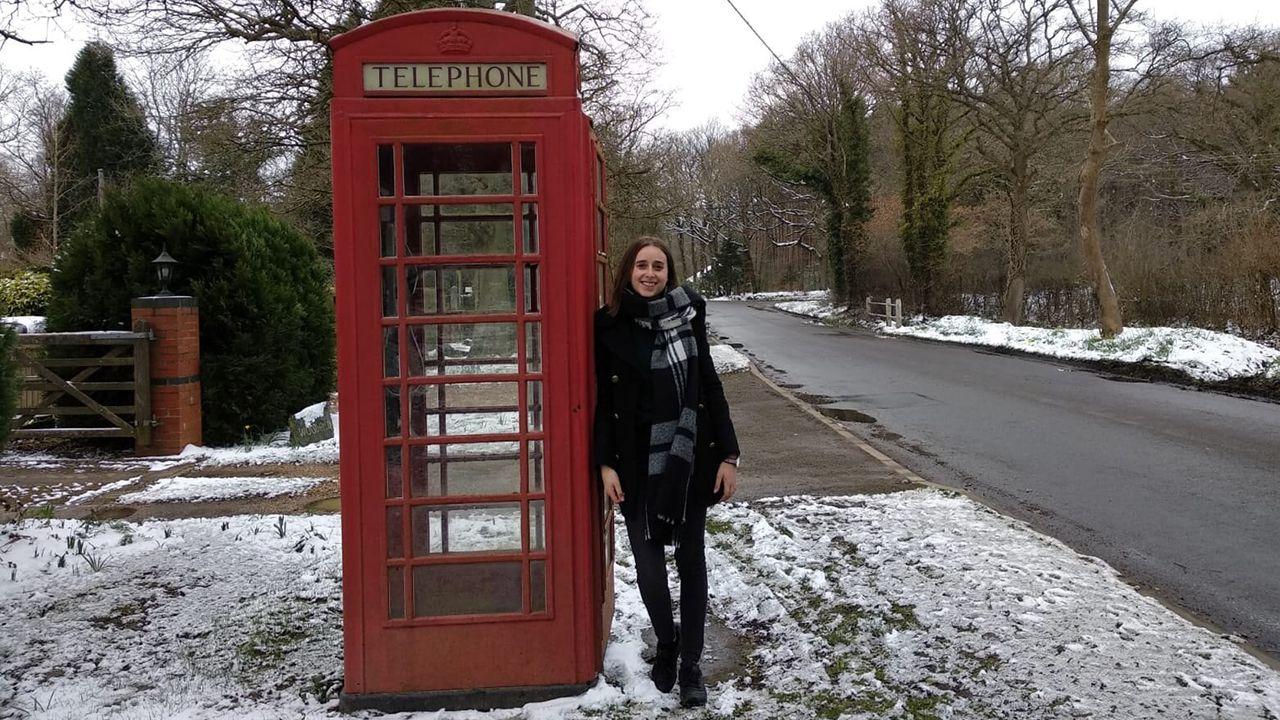 Eva Blanco, una asturiana viviendo en Horsham, Londres