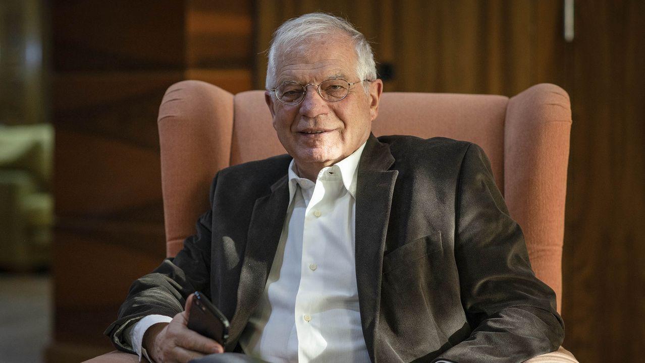El presidente de la Xunta, Alberto Núñez Feijoo