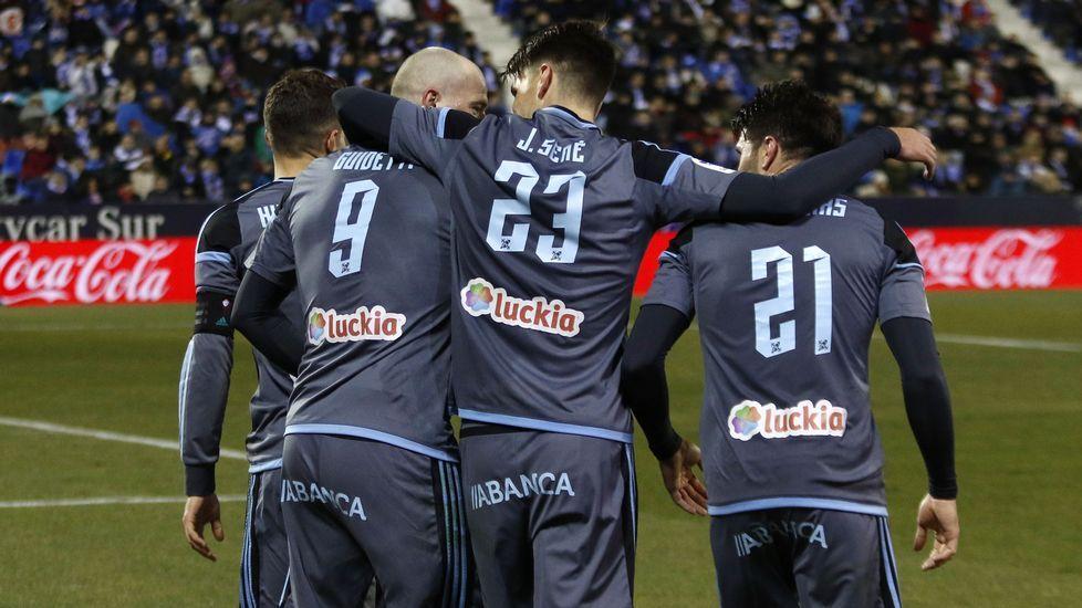 Radoja vive su tercera temporada en el Celta, con el que marcó su primer gol precisamente frente al Alavés.