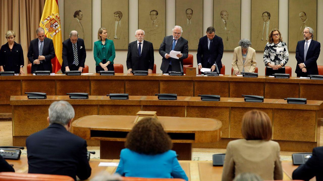 Acto de acatamiento a la Constitución para los eurodiputados que representarán a España en la Parlamento de la UE