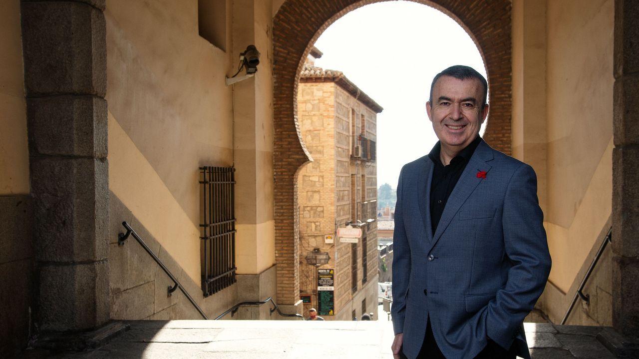berna.Lorenzo Silva está entre los autores más vendidos con su nueva novela, «Castellano»