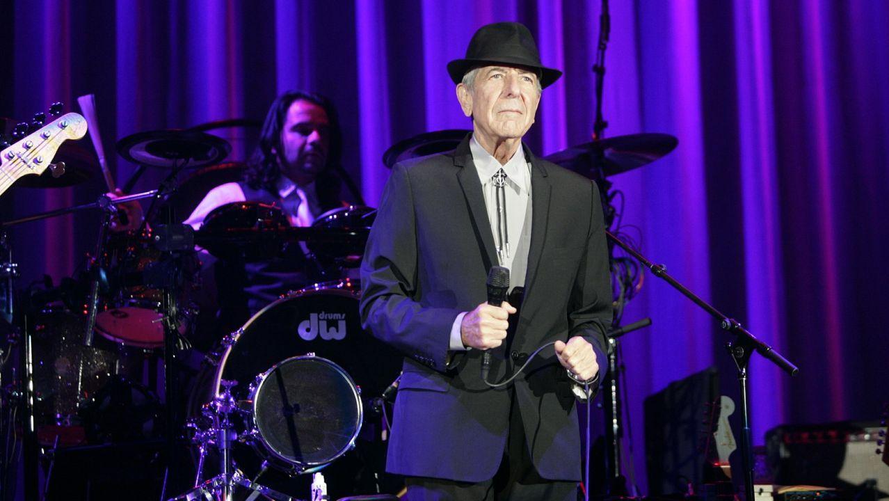 Cohen, en un concierto en Ourense en el 2010