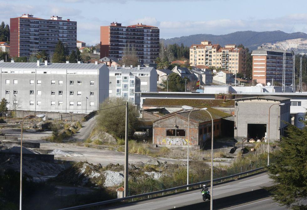 La hormigonera de A Barca lleva en desuso varios años, según señaló el alcalde de Poio.