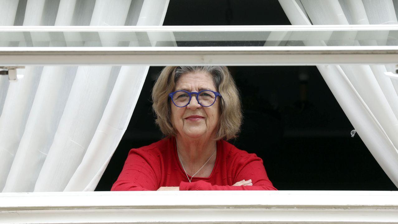 Encarna Álvarez, de 76 años, está sola durante el confinamiento